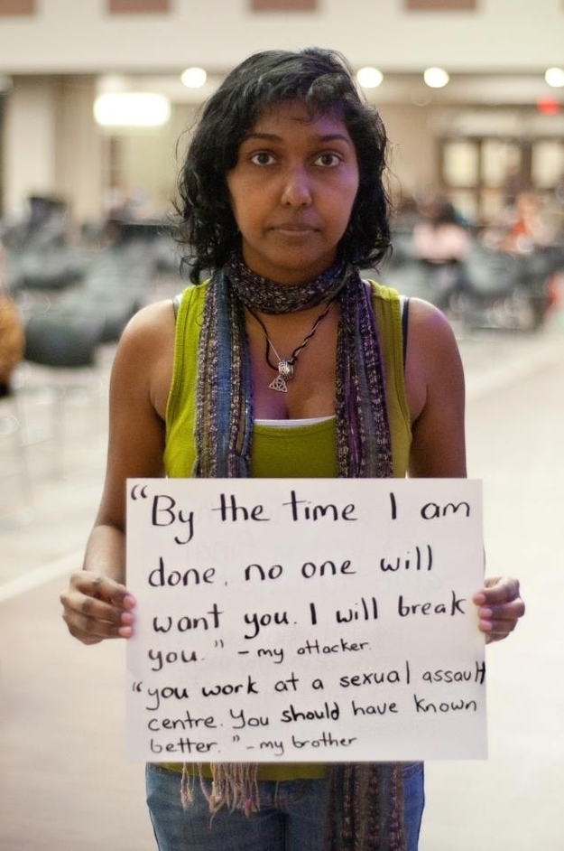 27 Survivors Of Sexual Assault Quoting The People Who Attacked Them