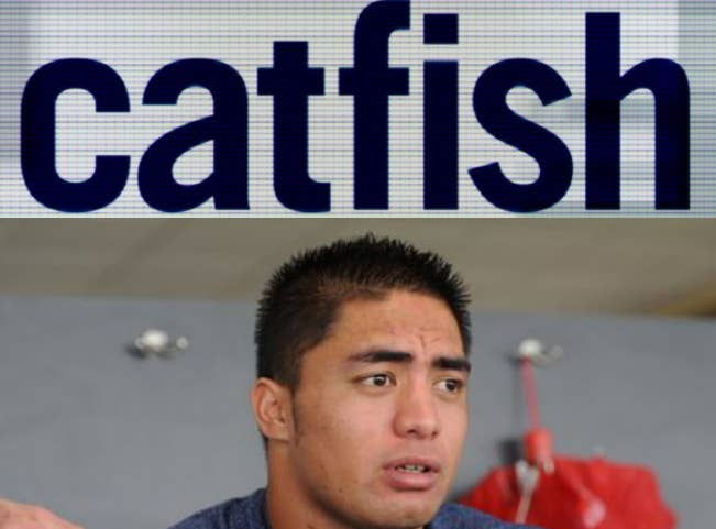 10 years form now, there's a huge chance Manti's NFL career will be over. What better way for him to make some more money than by embracing his past? In case you didn't know, catfishing is really freaking easy. Click below to learn more: