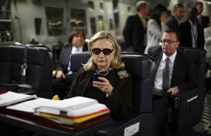 Hillary Clinton in 2011