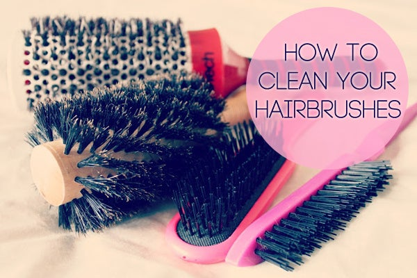 After pulling out all of the hair, soak them in warm water with some shampoo. Full directions here.