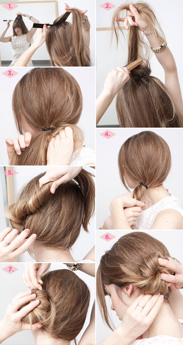 Enjoyable 23 Five Minute Hairstyles For Busy Mornings Hairstyle Inspiration Daily Dogsangcom