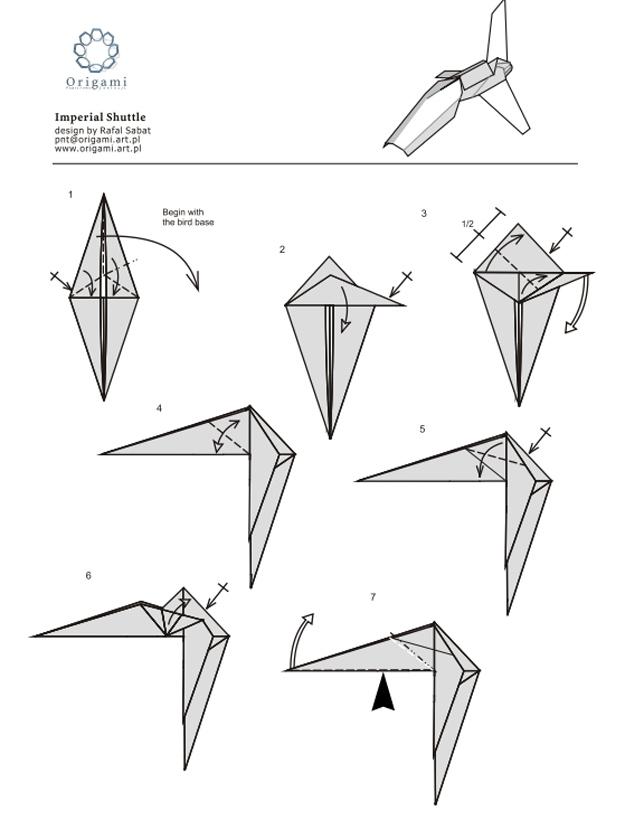Origami star pdf wars