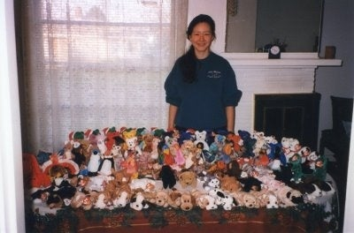 Beanie Babies were not just about collecting cute animals- it was a race to find the rarest, most expensive ones out there. Have you heard that the Princess Diana Bear is worth $10K?