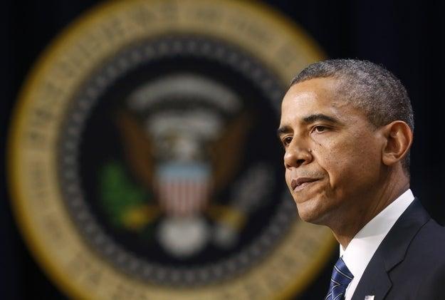 President Barack Obama delivers remarks at the White House on November 28, 2012.