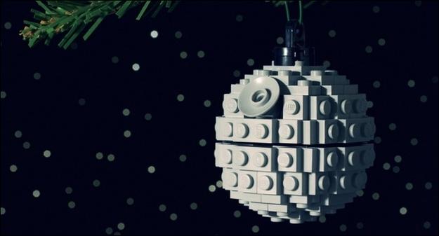 Or a LEGO Death Star ornament.