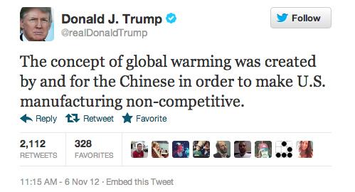 La Ciencia de Donald Trump