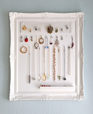 Jewelry Storage Frame