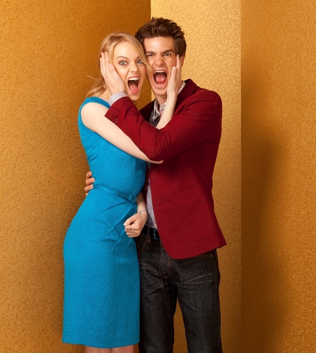 Emma Stone And Andrew Garfield Won 2012