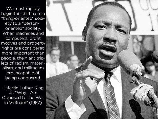 an analysis of life of martin luther king