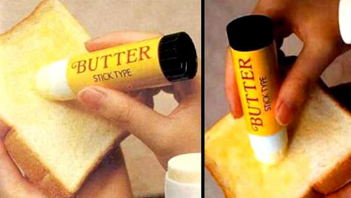 Make a butter pen for toast.