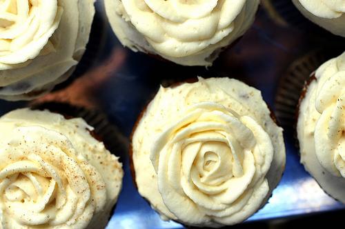Bake these delicious pumpkin cupcakes.