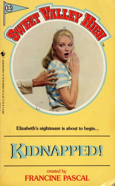Elizabeth gets kidnapped by a creepy orderly who serves her nothing from frozen pancakes. Even weirder? It doesn't explain how she uses the bathroom!
