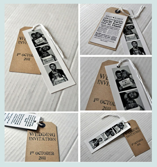 Photo Strip Bookmarks