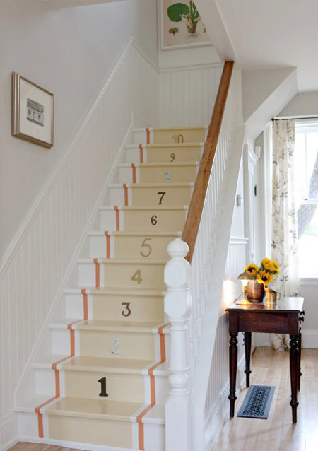 Read About The Farmhouse Containing This Numbered Staircase Here.