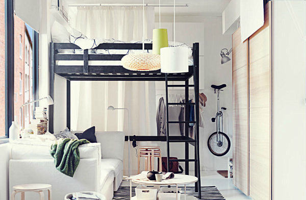 Store-Bought Loft Bed