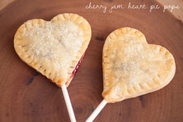 Jam Heart Pie Pops