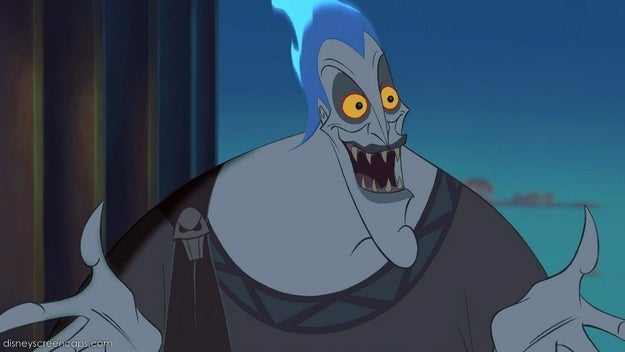 """More """"sassy gay friend"""" than evil villain, Disney scrubbed most of the scary right of the god of the underworld."""