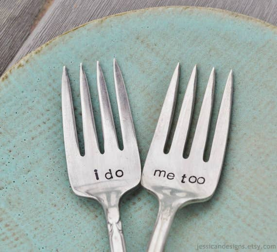 tenedores para boda