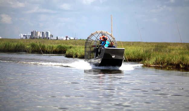 Airboats faster than your car