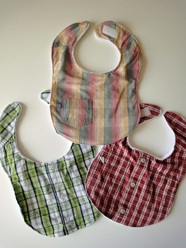 Bib Made From Recycled Shirts