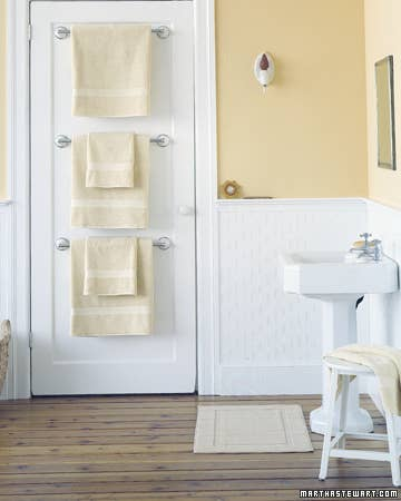 Life Hacks For Your Tiny Bathroom - Micro cotton towels for small bathroom ideas
