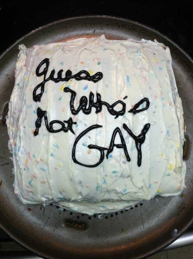 Awesomely Creative Ways To Come Out Of The Closet - 20 terrifying birthday cakes that will make you fear growing older