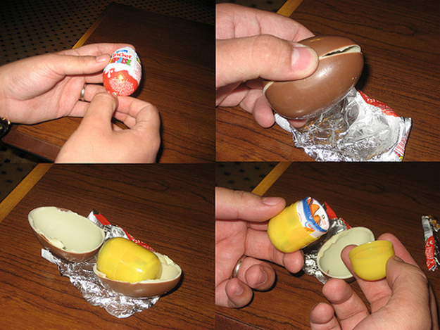 American Children Finally Deemed Smart Enough To Eat Kinder Eggs