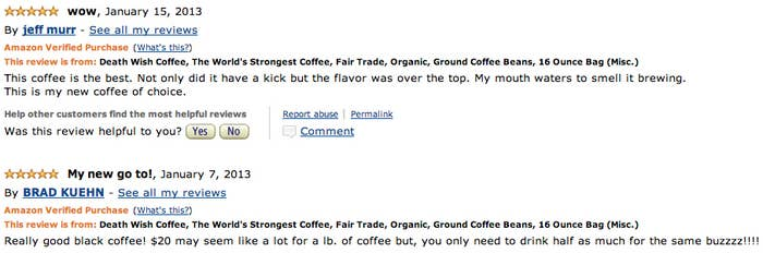 this is supposedly the strongest coffee in the world
