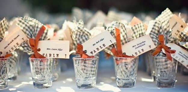42 wedding favors your guests will actually want 26 shot glasses solutioingenieria Gallery