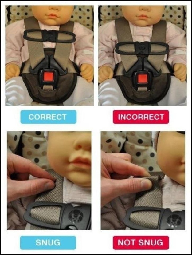 A simple child-harness safety guide: