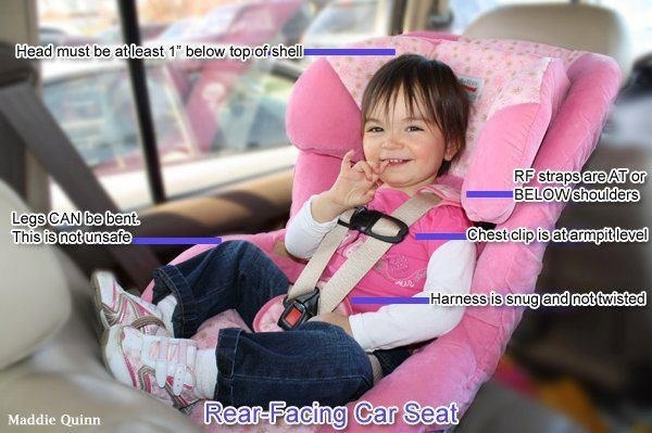 More tips for a rear-facing car seat:
