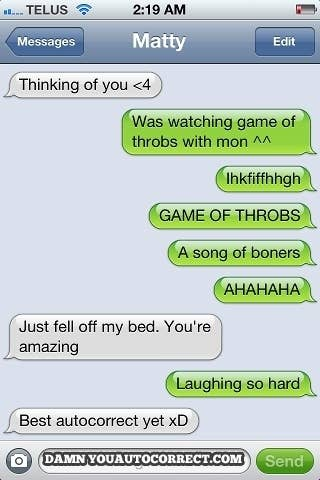 The Most Hilarious Autocorrect Struggles Ever - The 25 funniest text autocorrects you will see today