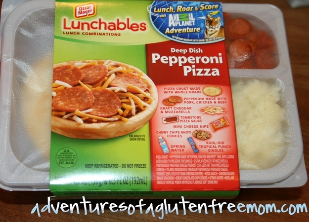 Your friends would bring things like Lunchables to school.