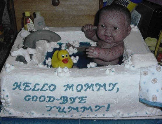38 Baby Shower Cakes Made Of Nightmares