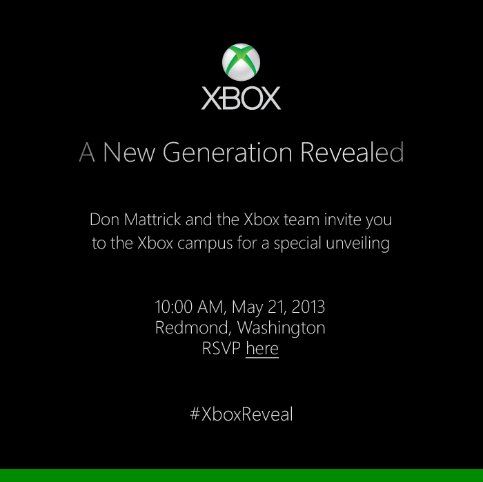 Microsoft Is Announcing The New Xbox On May 21
