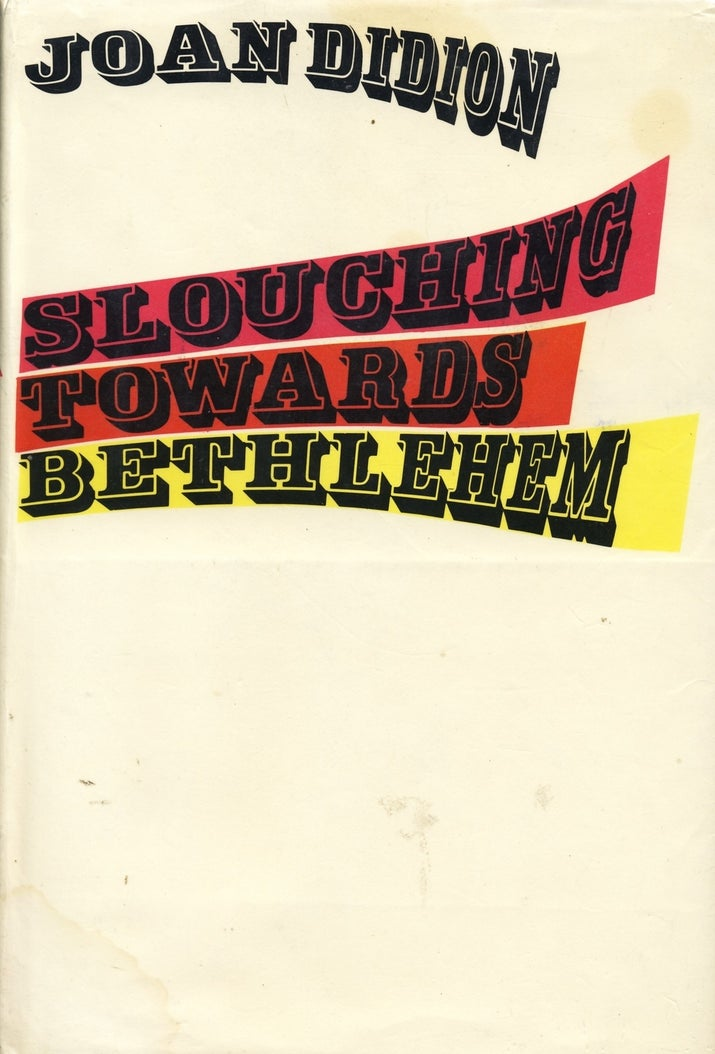 The Bible for anyone who's fancied themselves a writer, ever. Didion has probably said what you wanted to say, and earlier and better.