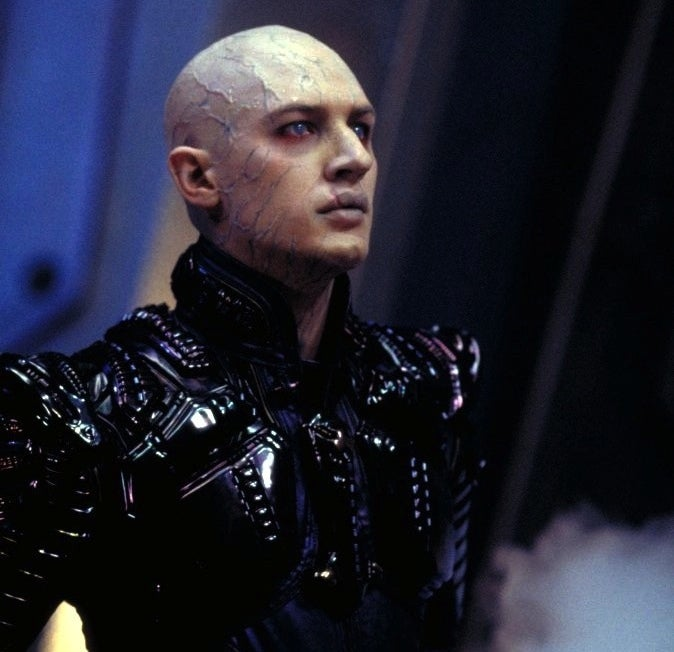 I could spend all the words detailing every reason why Nemesis is an affront to all that is good in the world, but you really don't need to look any further than its main villain, the worst in the history of Star Trek. Shinzon (Tom Hardy, way before he was a big deal) is a secretly cloned version of Capt. Jean-Luc Picard, the crux of a discarded Romulan plot who was subsequently cast into the mines on Remus, where he became the leader of the Remans — and already the character has gone off the rails. Remus? Remans? Wuzzah? And why clone Picard for a nefarious plot only to keep that plot from actually happening?In any event, it's pretty clear that Shinzon was supposed to be a provocative exploration of the differences between nature and nurture. Instead, he's a sniveling spoiled brat in a costume straight out of an '80s metal band music video who bears zero resemblance to Picard save for his bald head and regal nose, and that they both like their tea Earl Grey, and hot. Hardy seems completely lost in the role. It's a total waste.