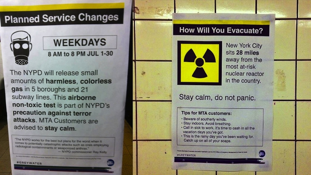 Fake Terror Attack Test Posters Freaking Out New Yorkers