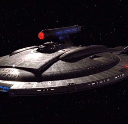 The Enterprise NX-01 from Star Trek: Enterprise