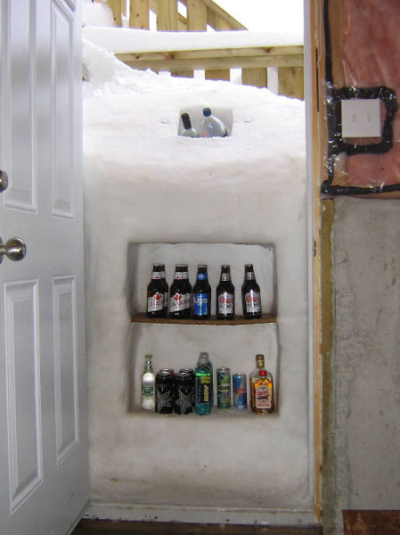 Snow Beer Cooler