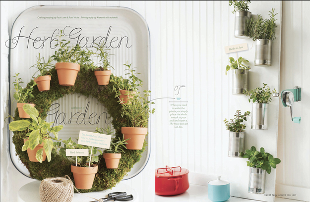 Start an herb garden — even if you don't have outdoor space.