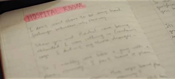 Heath Ledger S Creepy Joker Diary Revealed