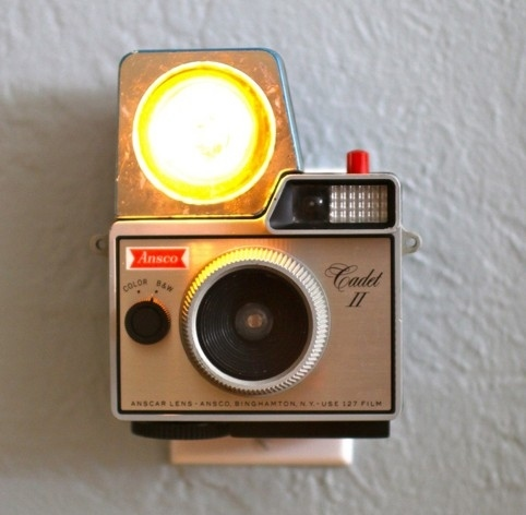 DIY Vintage Camera Night Light