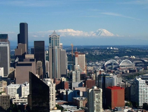 The view from Kerry Park is so good I want to marry it. Or get married there.