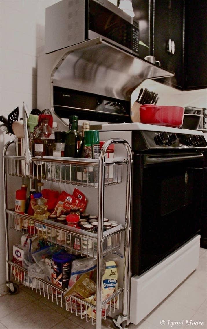 Extra Kitchen Storage 27 Lifehacks For Your Tiny Kitchen