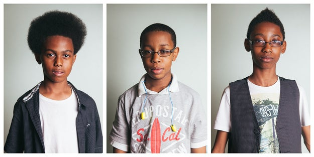 Unlocking the Truth members: (from left) Malcolm Brickhouse, Jarad Dawkins, and Alec Atkins.