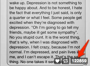 meet the girl behind one of tumblr s biggest self harm  share on facebook share