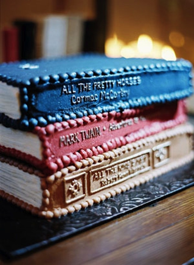 Enjoyable 24 Incredible Cakes Inspired By Books Personalised Birthday Cards Xaembasilily Jamesorg