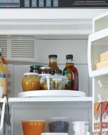 refrigerator shelves. never forget something in the back of fridge again. refrigerator shelves