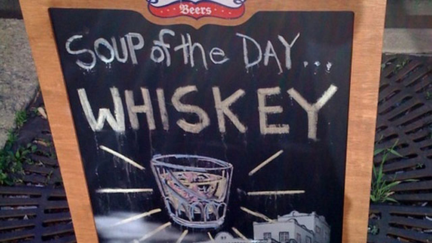 Whiskey fat